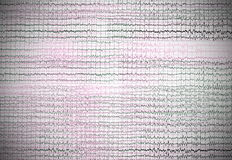 Illustration brain waves background. Texture Royalty Free Stock Images