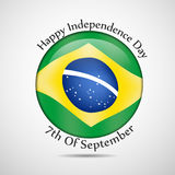 Illustration of Brazil Independence Day Background. Illustration of elements of Brazil Independence Day Background Royalty Free Stock Images