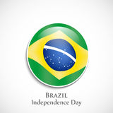 Illustration of Brazil Independence Day Background. Illustration of elements of Brazil Independence Day Background Stock Photography