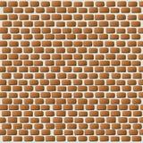 Illustration  of Bricks Wall Background Royalty Free Stock Image