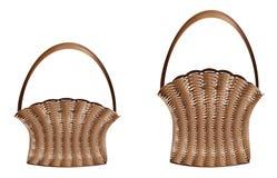 Weaved baskets Stock Photo