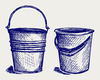 Illustration of bucket Royalty Free Stock Images