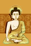 Illustration of Budda Stock Photo