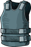 Illustration of bullet proof vest Stock Images