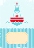 Illustration of buoy Royalty Free Stock Image