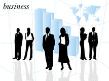 Illustration of business Stock Images