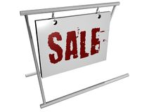 Illustration of business billboard Royalty Free Stock Photo