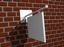 Illustration of business billboard Stock Image