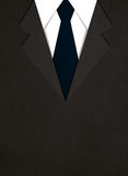 Illustration of business suit with a tie Royalty Free Stock Image