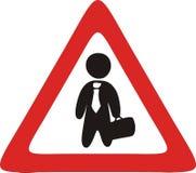 Illustration: business zone Stock Image
