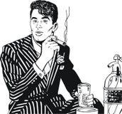 Illustration of a businessman, Stock Image