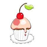 Illustration of cake Stock Photography