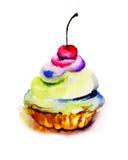 Illustration of cake Royalty Free Stock Photo