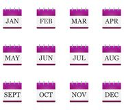 Illustration of the calendar stock illustration