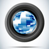 Illustration camera photo Royalty Free Stock Photo