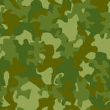 Illustration of camouflage seamless pattern Stock Photos