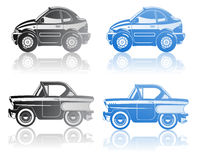 Illustration of  car. Royalty Free Stock Photo