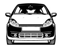 Illustration of car Stock Photo