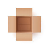 Illustration Of Cardboard Box Royalty Free Stock Photo