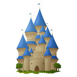 Princess castle Stock Photos