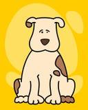 illustration of cartoon dog Royalty Free Stock Image