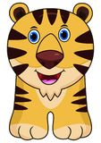 Cartoon funny cheetah stock illustration