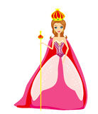 Cartoon queen Stock Images