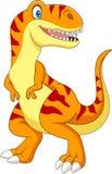 Cartoon tyrannosaurus isolated on white background Royalty Free Stock Photo