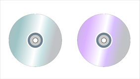 CD DVD Stock Photography