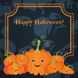 Illustration for the celebration of Halloween Stock Photo