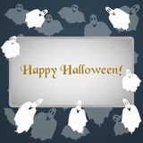 Illustration for the celebration of Halloween. To bring your design ideas and business Stock Photo