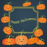 Illustration for the celebration of Halloween. To bring your design ideas and business Stock Photography