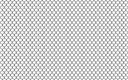 Illustration of chain link fence isolated on white background. Vector prison barrier, secured property graphic element vector illustration