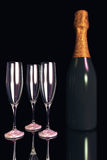 Illustration of Champagne Royalty Free Stock Photography