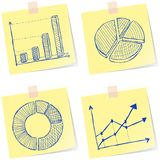 Charts sketches Stock Photo