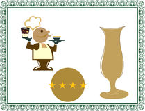 Illustration chef Stock Image