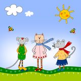 Illustration for children Royalty Free Stock Photography