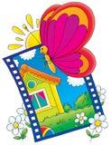Illustration for children stock illustration