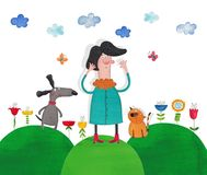 Illustration for children Stock Photo