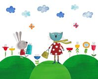 Illustration for children Royalty Free Stock Image