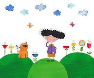 Illustration for children Royalty Free Stock Images
