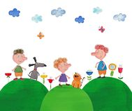 Illustration for children Royalty Free Stock Photo