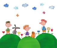 Illustration for children Royalty Free Stock Photo