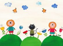 Illustration for children Stock Photography