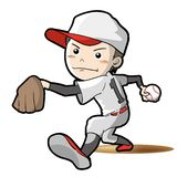Baseball confrontation vector image vector illustration