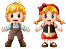 Children Story. Hansel and Gretel. Illustration of Children Story. Hansel and Gretel Royalty Free Stock Photography