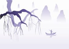 Illustration chinoise Photos stock