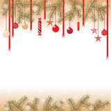 Illustration of the Christmas background Stock Photography