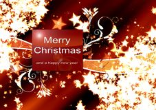 Illustration Christmas Background Royalty Free Stock Image