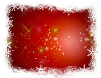 Illustration Christmas Background Stock Image